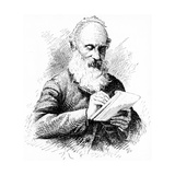 Lord Kelvin, Irish-Born Scottish Mathematician and Physicist, C1900 Giclee Print