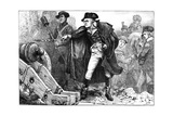 George Washington at the Siege of Yorktown, Virginia, 1781 Giclee Print