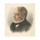 Lionel Nathan De Rothschild, Baron Rothschild, C1880 Giclee Print
