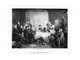 Sir Walter Scott and His Friends, C1849 Giclee Print by Thomas Faed