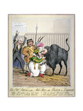 An Old Friend with a New Face or the Baron in Disguise, 1821 Giclee Print by Theodore Lane