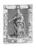 Cardinal Richelieu, C1637 Giclee Print by Philippe De Champaigne
