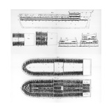 A Plan of the Interior of a Slave Ship, 1808 Giclee Print