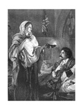 The Lady with the Lamp, C1880 Giclee Print