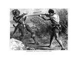 Chamberlain and Paugus at Lovewell's Fight, 1725 Giclee Print