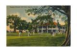 Augusta National Golf Club House, 1943 Reproduction procédé giclée