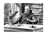 John Lubbock, Lst Baron Avebury, English Banker, Scientist and Liberal Politician, 1884 Giclee Print