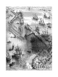 Siege of La Rochelle, France, 1627 (1882-188) Giclee Print