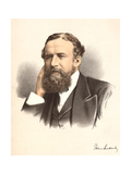 John Lubbock, First Baron Avebury, English Banker, Archaeologist, Naturalist and Politician, C1880 Giclee Print