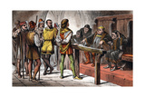Scene from Shakespeare's Much Ado About Nothing, 1856-1858 Giclee Print
