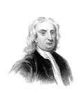 Sir Isaac Newton, English Physicist, Mathematician and Astronomer Giclee Print