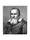 Galileo Galilei (1564-164), 1882 Giclee Print by Justus Sustermans
