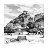 The Rock Fort Temple of Tiruchirapalli, India, 1895 Giclee Print by  Taylor