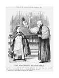 The Chichester Extinguisher, 1868 Giclee Print by John Tenniel