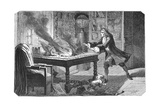Isaac Newton, English Scientist and Mathematician, 1874 Giclee Print