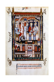 St Denis in Chains, 1317 Giclee Print