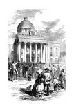 Inauguration of Jefferson Davis, Montgomery, Alabama, 1861 Giclee Print