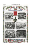 Victoria Cross, British Award for Gallantry, 1857 Giclee Print