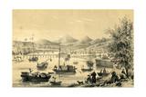 Foo Choo Foo, One of the Five Ports Opened by the Late Treaty to British Commerce, 1847 Giclee Print by Piqua Piqua