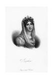 Joséphine De Beauharnais, First Wife of Napoléon Bonaparte, and Empress of France, 19th Century Giclee Print by  Freeman
