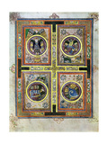The Evangelical Symbols, 800 Ad Giclee Print
