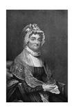 Abigail Adams (1744-181), Wife of President John Adams, 18th Century Giclee Print