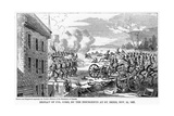 Defeat of Colonel Gore, by the Insurgents at St Denis, 22 November 1837 Giclee Print