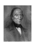 Robert Owen, Welsh-Born Industrialist, Philanthropist and Socialist, 1851 Giclee Print by Samuel Bough