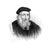 John Wycliffe, 14th Century English Theologian and Religious Reformer Giclee Print