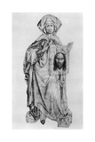 St Veronica, Mid 15th Century Giclee Print by Robert Campin