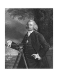 James Brindley, English Civil Engineer and Canal Builder, C1770 Giclee Print by Francis Parsons