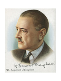 William Somerset Maugham, British Author of Novels, Plays and Short Stories, 1927 Giclee Print by Somerset Maugham