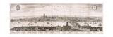 View of London from the South, 1638 Giclee Print by Matthaus Merian