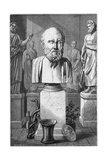 Hippocrates of Cos, Ancient Greek Physician, 1866 Giclee Print