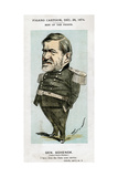 Robert C Schenck, Us Army General and Diplomat, 1874 Giclee Print by  Faustin