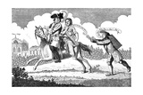 John of Gant Mounted, Or, Mars on His Journey..., 1747 Giclee Print