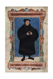 Martin Luther, German Theologian and Augustinian Monk, 19th Century Giclée-tryk