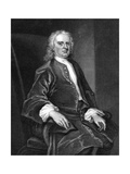 Isaac Newton, English Mathematician, Physicist and Astronomer Giclee Print