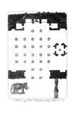 Plan of the Elephanta Caves, India, 1799 Giclee Print