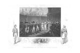 The Surrender of Two Sons of Tipoo Sultan', C1860 Giclee Print by Henry Singleton