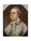 Edward Gibbon, British Historian, 1773 Giclee Print