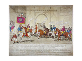 City Election Candidates of 1812 Giclee Print by C Williams