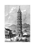 The Porcelain Tower of Nanjing, China, C1895 Giclee Print