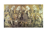 Centre Panel of the Ortenberg Altarpiece, C1410-1420 Giclee Print