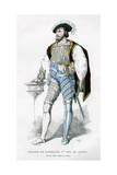 Claude De Lorraine, 1st Duke of Guise, 16th Century (1882-188) Giclee Print by  Petit