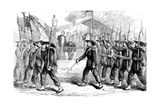 March Past of the 'Garibaldi Guard' before President Lincoln, 1861-1865 Giclee Print