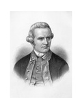 Captain James Cook, English Explorer, Navigator and Cartographer Giclee Print