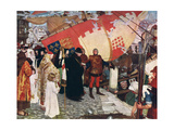 The Departure of John and Sebastian Cabot...On their First Voyage of Discovery in 1497, 1906 Giclee Print by Ernest Board