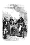 Washington Taking Leave of His Old Comrades, 1783 Giclee Print