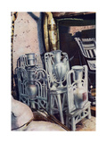 Alabaster Vases, Tutankhamun's Tomb, Egypt, 1933-1934 Giclee Print by Harry Burton